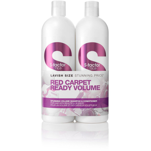 TIGI S-FACTOR STUNNING VOLUME TWEEN DUO (2 X 750ML)