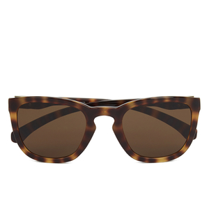 Calvin Klein Jeans Unisex Rectangle Sunglasses - Warm Tortoise