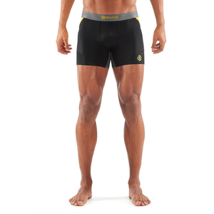 Skins DNAmic Men's Shorts - Black/Citron