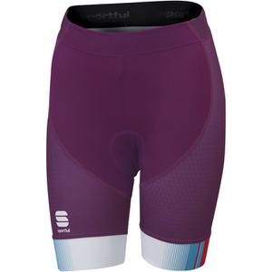 Sportful Gruppetto Women's Shorts - Purple/Pink/Blue