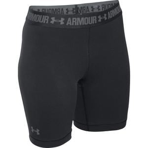 Under Armour Women's HeatGear Armour Long Shorts - Black