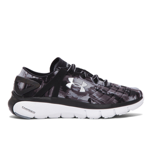 Under Armour Women's SpeedForm Fortis GR Running Shoes - Black/White