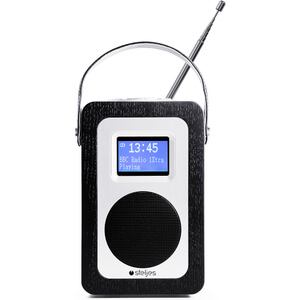 Steljes Audio SA20 Bluetooth Portable Radio (DAB/DAB+/FM) - Black Oak