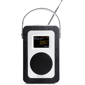 Steljes Audio SA60 Bluetooth DAB+ Portable Wi-Fi Radio (DAB/DAB+/FM) - Black Oak