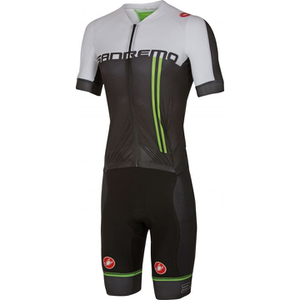 Castelli Sanremo 3.2 Speed Suit - Black/White