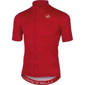 Castelli Imprevisto Nano Short Sleeve Jersey - Red