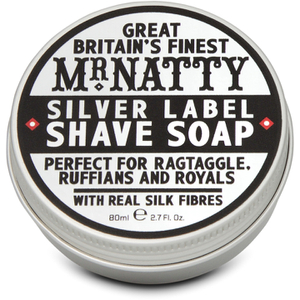 Jabón de Afeitar Silver Label de Mr Natty 80 ml