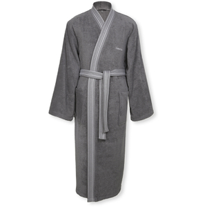 Calvin Klein Riviera Bathrobe - Charcoal