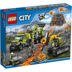 LEGO City: Vulkan-Forscherstation (60124)