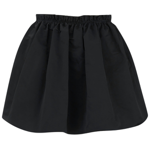 McQ Alexander McQueen Women's Crinkled Skirt - Black