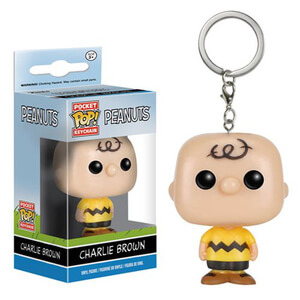 Peanuts Charlie Brown Pocket Pop! Schlüsselanhänger