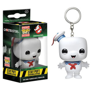 Ghostbusters Pocket Pop! Schlüsselanhänger - Stay Puft Marshmallow Man