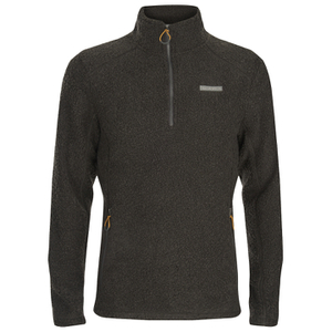 Craghoppers Men's Daniels Half Zip Fleece - Black Pepper