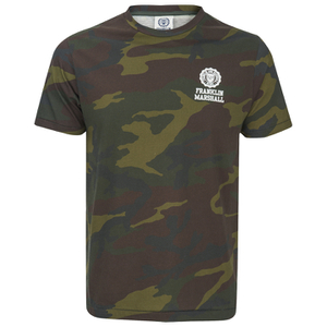 Franklin & Marshall Men's Camouflage Print T-Shirt - Green