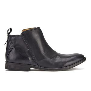 H Shoes by Hudson Women's Revelin Leather Ankle Boots - Black