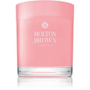 Bougie Molton Brown Single Wick Candle Rhubarbe et Rose 180g