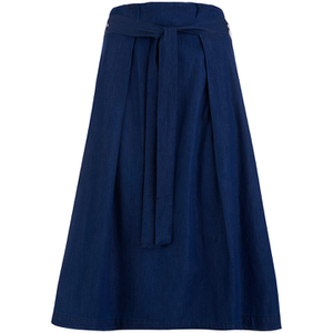 Great Plains Women's Lightweight Denim Skirt - Vintage Blue