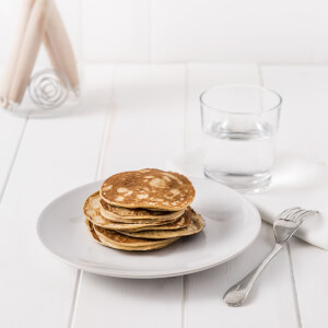 Exante Diet Box of 7 Maple Syrup Pancakes