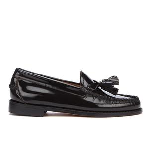 Bass Weejuns Women's Estelle Leather Loafers - Black Hi Shine