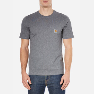 Carhartt Men's Short Sleeve Pocket T-Shirt - Grey