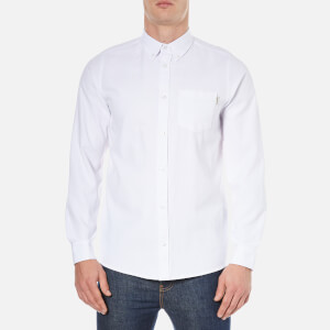 Carhartt Men's Long Sleeve Dalton Shirt - White Heavy