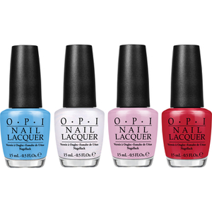 OPI Alice In Wonderland Nail Varnish Collection -  Mini Royal Court of Colour Mini Pack 4 x 3.75ml