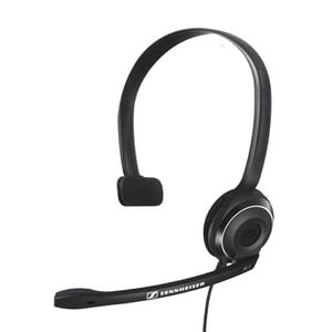Sennheiser PC 7 USB Lighweight On-Ear Gaming Headset with Mic - Black
