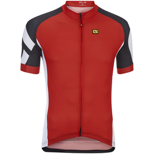 Alé Plus Cosmo Short Sleeve Jersey - Red