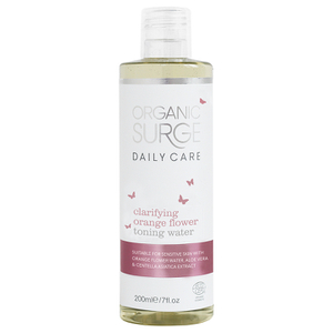 Organic Surge Daily Care Orange Flower Toning Water (200ml)