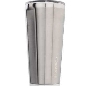 Corkcicle Canteen Triple Insulated Tumbler 16 oz - Brushed Steel