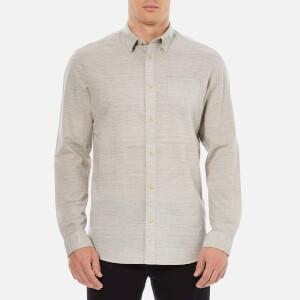 Selected Homme Men's Wowade Long Sleeve Shirt - Flint Grey