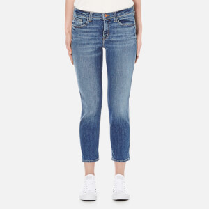 J Brand Women's Sadey Slim Straight Jeans - Old Rose