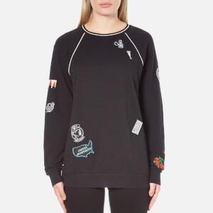 OBEY Clothing Women's Rivington Crew Sweatshirt - Black