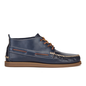 Sperry Men's A/O Wedge Leather Chukka Boots - Navy