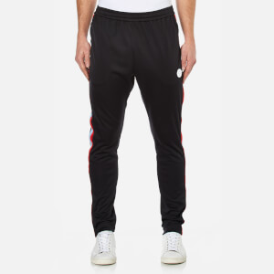 MSGM Men's Side Stripe Tracksuit Bottoms - Black