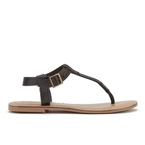 Superdry Women's Bondi Thong Sandals - Black