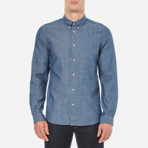 PS by Paul Smith Men's Long Sleeve Shirt - Indigo