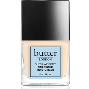 butter LONDON Sheer Wisdom Nail Tinted Moisturiser 11ml - Fair