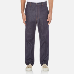 AMI Men's Street Fit Jeans - Indigo