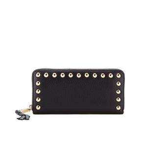 Rebecca Minkoff Women's Ava Zip Wallet with Studs - Black