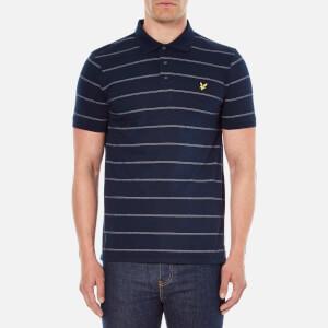Lyle & Scott Vintage Men's Stitch Stripe Polo Shirt - Navy