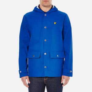 Lyle & Scott Vintage Men's Raincoat - Lake Blue