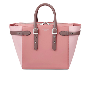 Aspinal of London Women's Marylebone Medium Tote - Rose Dust/Dusky Pink/Chanterelle