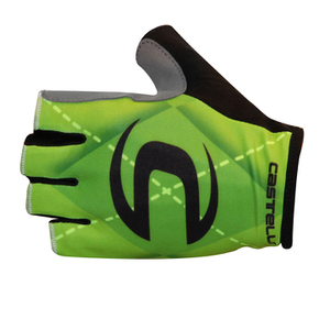 Castelli Cannondale Pro Cycling Team Roubaix Gloves - Green