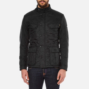 Barbour International Men's Ariel Polarquilt Jacket - Black
