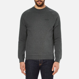 Barbour International Men's Small Logo Sweatshirt - Charcoal Marl