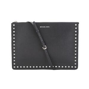 MICHAEL MICHAEL KORS Ava Stud Large Crossbody Bag - Black