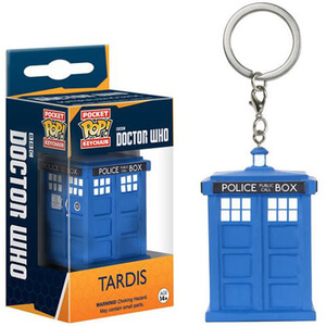 Doctor Who TARDIS Pocket Pop! Key Chain