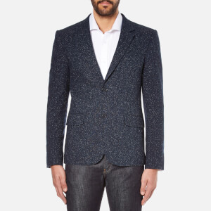 Carven Men's 2 Button Blazer - Marine