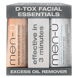 men-? D-Tox Facial Essentials (15ml)